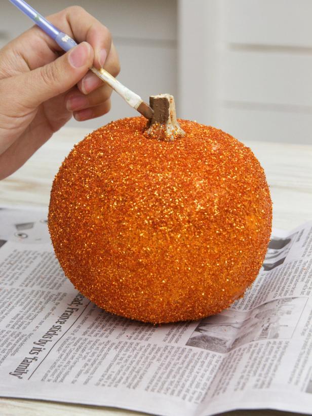 Paint the Pumpkin Stem Step 5