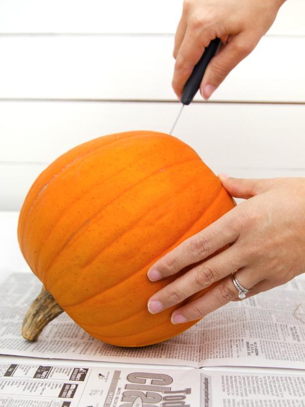 Empty Out Pumpkin