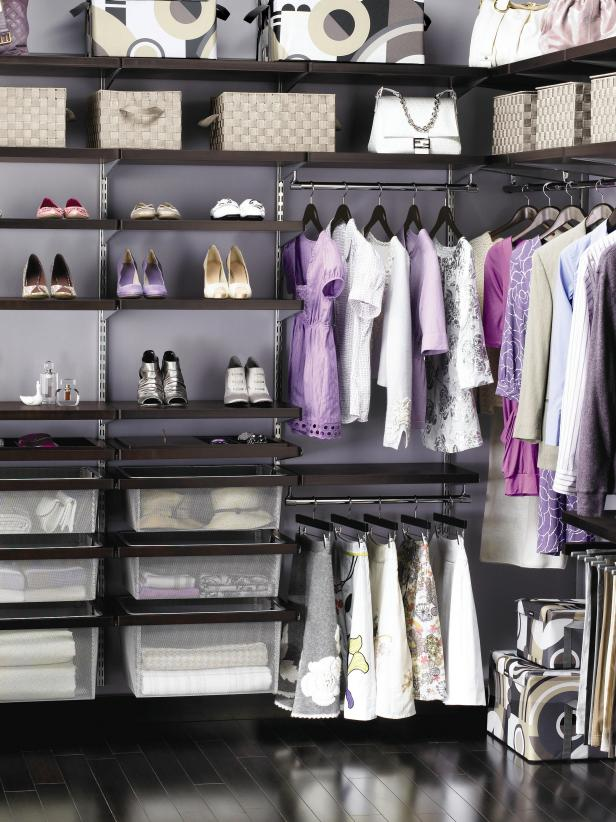Chic, Organized Walk-In Closet