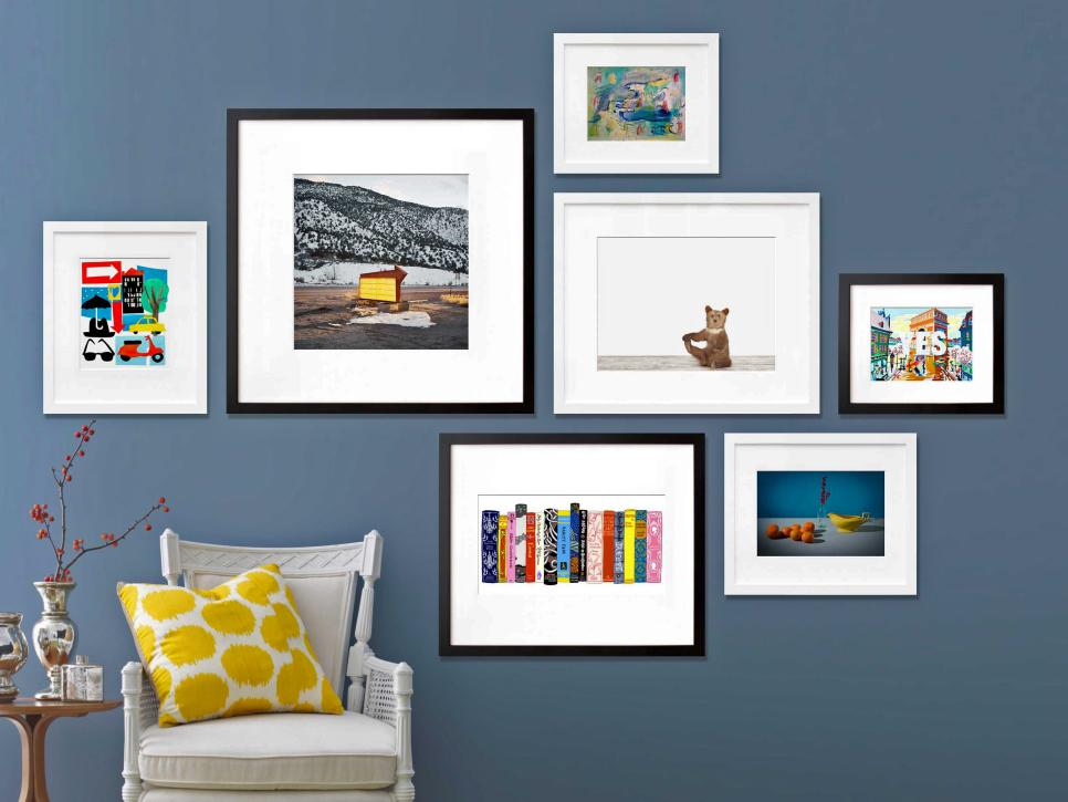 How To Create an Art Gallery Wall HGTV
