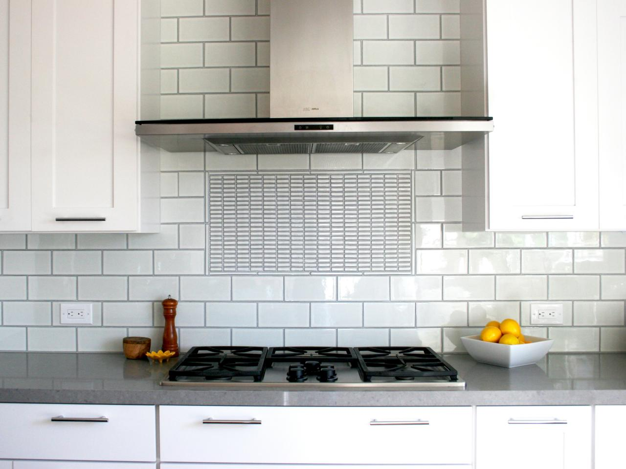 Photos hgtv - Best white tile backsplash kitchen ...