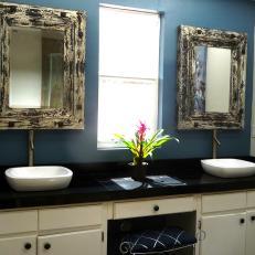 Rustic Chic Bathroom shabby chic bathroom photos | hgtv