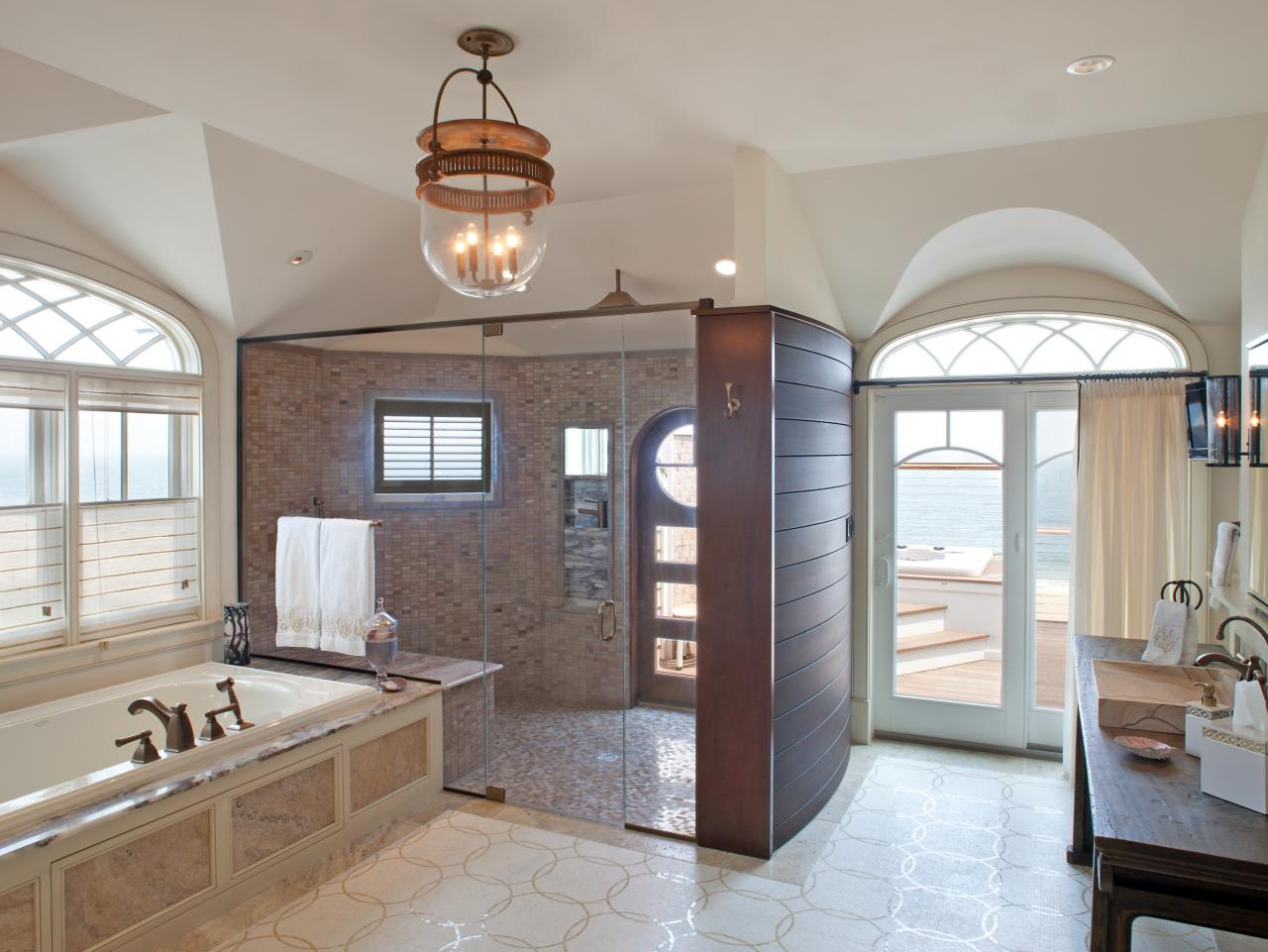 Beach & Nautical Themed Bathrooms: HGTV Pictures & Ideas