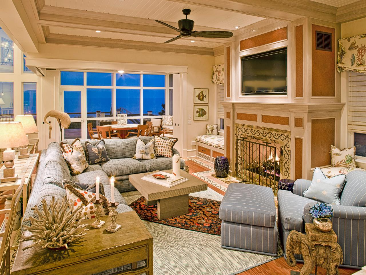 Coastal Living Room Ideas And Dining