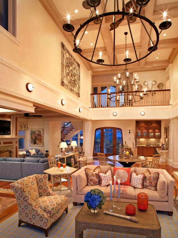 Coastal living room ideas hgtv - Pictures of decorated living rooms ...