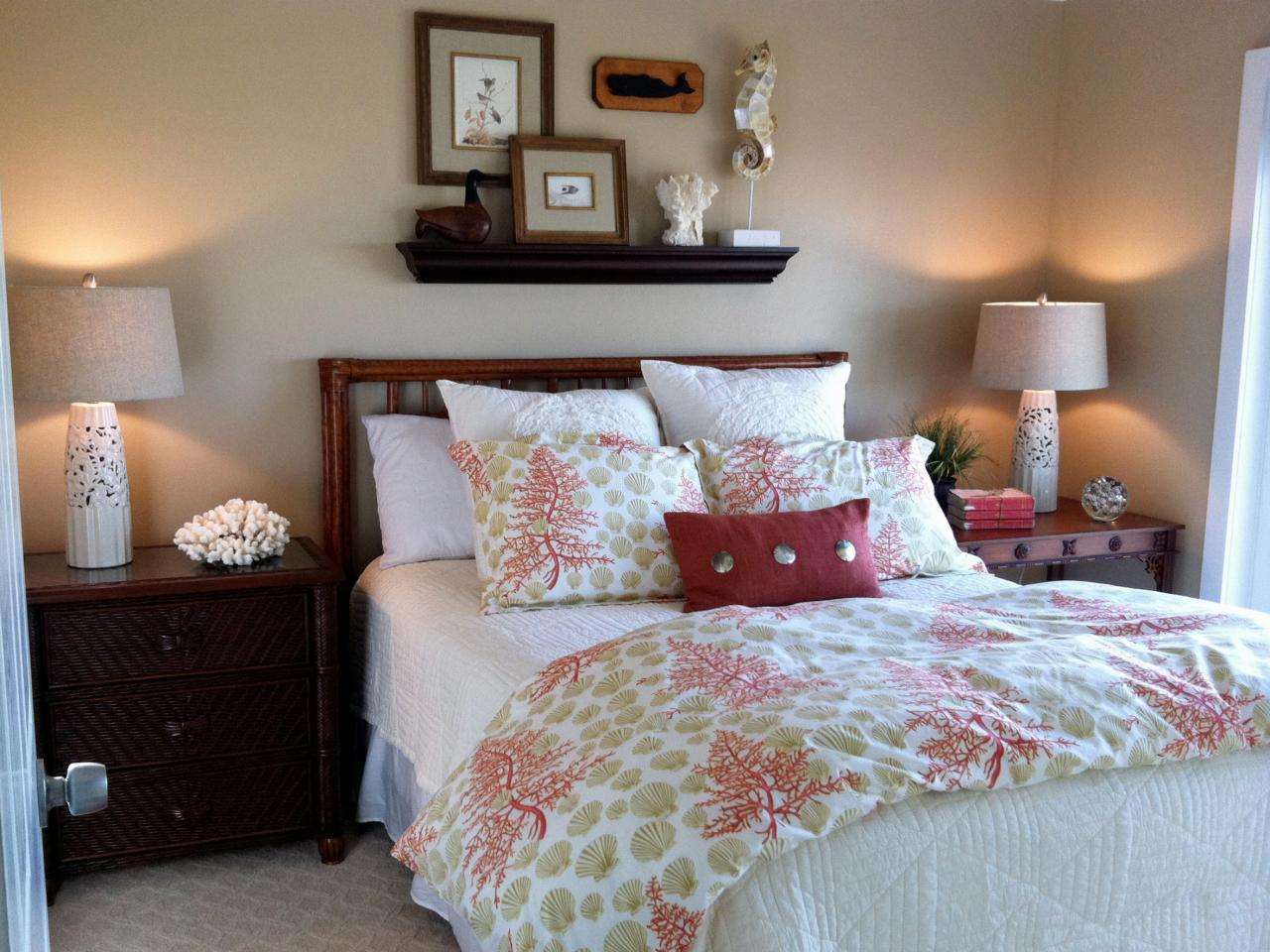 Coastal inspired bedrooms bedrooms bedroom decorating for Bedroom furnishing ideas