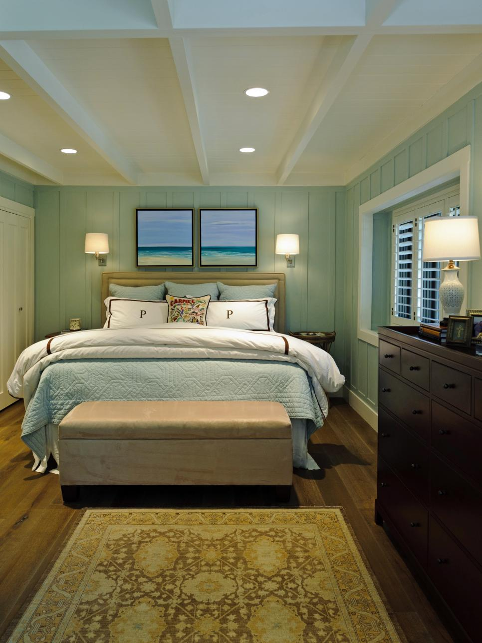 coastal-inspired bedrooms | hgtv