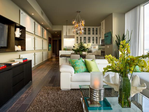Spacious Open Concept Living Space