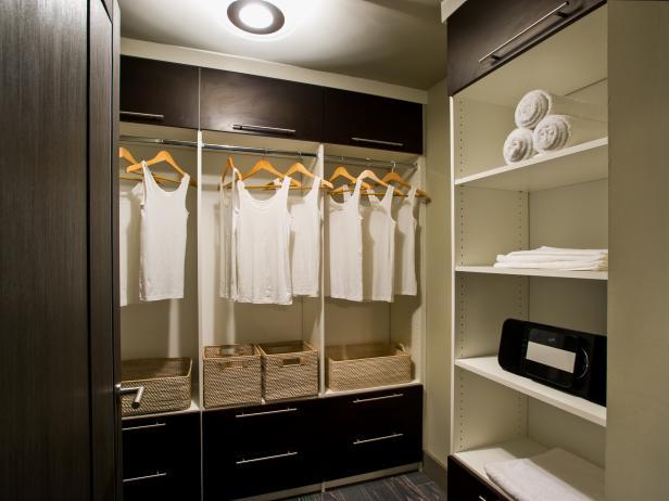 Spacious Master Bedroom Closet