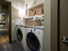 A Laundry Room with Extra Storage