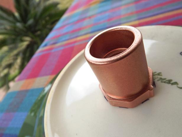 Copper Birdbath Faucet