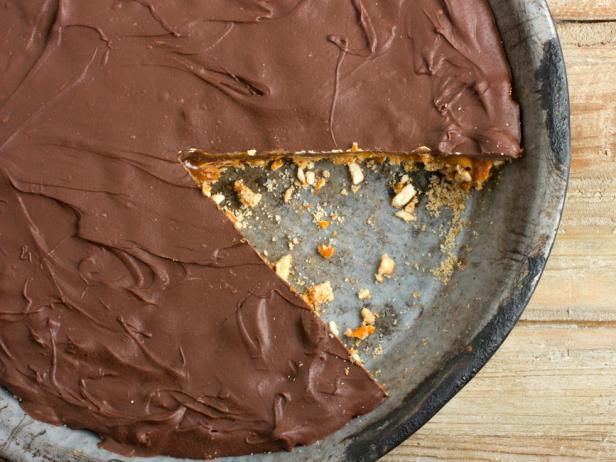 """Take the Day"" Peanut Butter & Chocolate Pie"