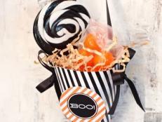 Treat Cone Halloween Favor Bag