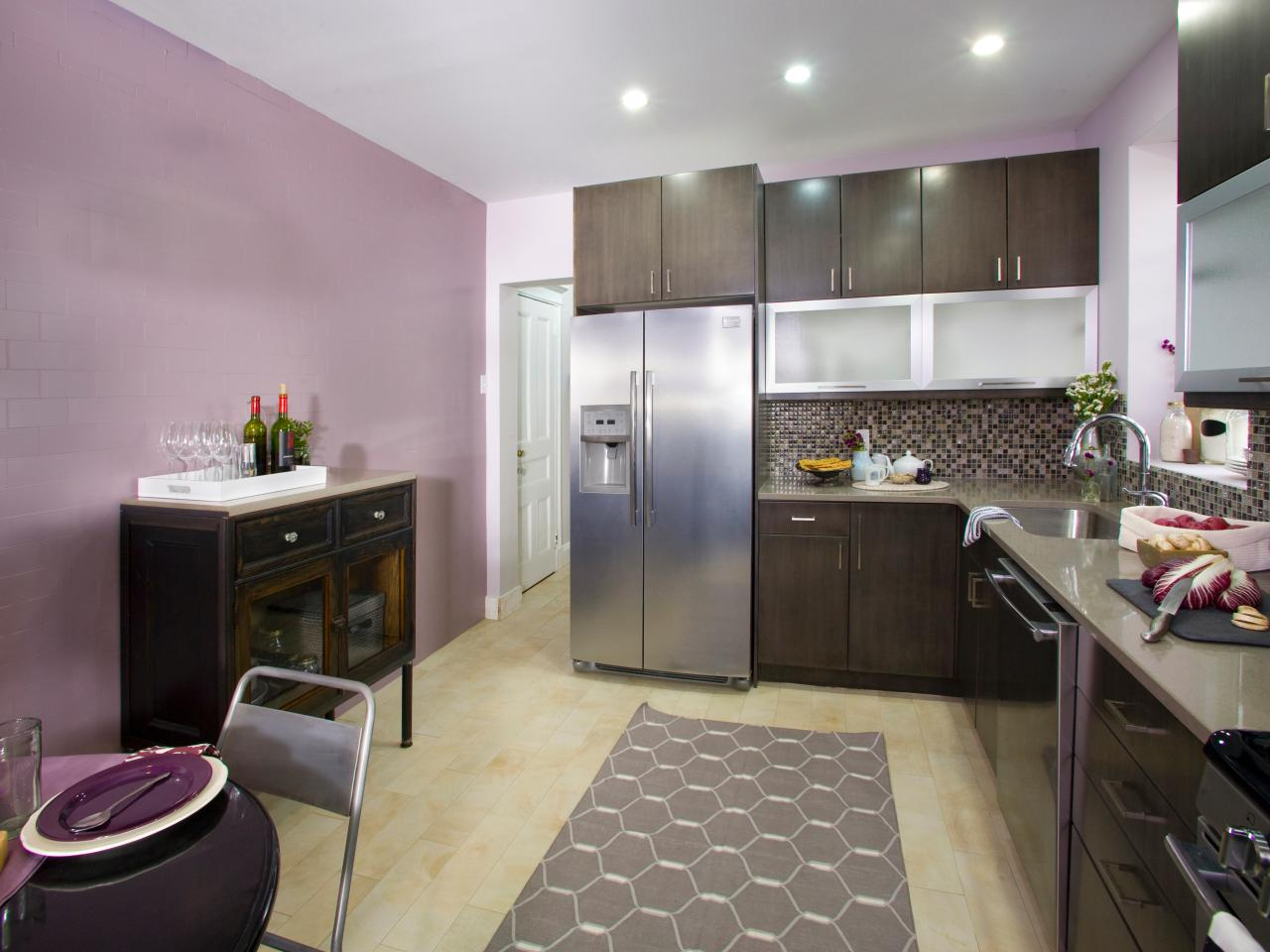 Purple Kitchen Photos Hgtv