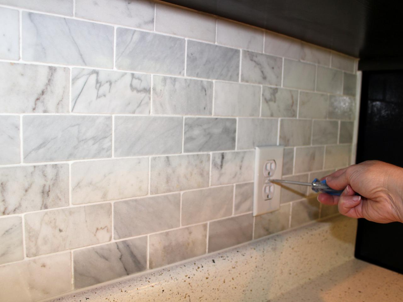How Much To Install Backsplash subway tile there are many styles colors how do you choose the right Smooth Caulk For Marble Tile Kitchen Backsplash