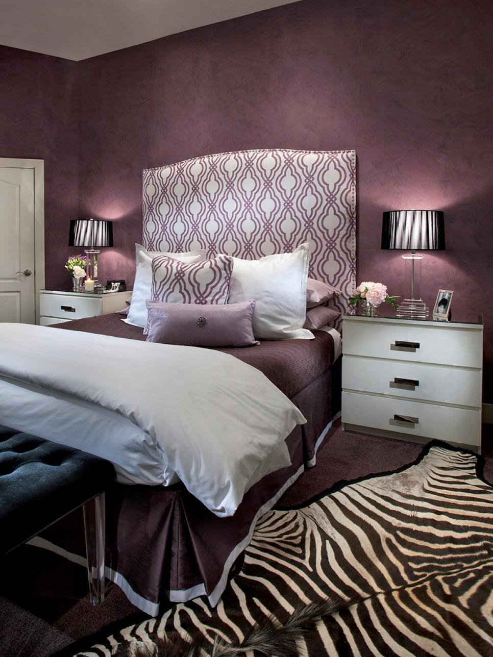 Chambre beige et aubergine: couleur aubergine. vos conseils pour ...