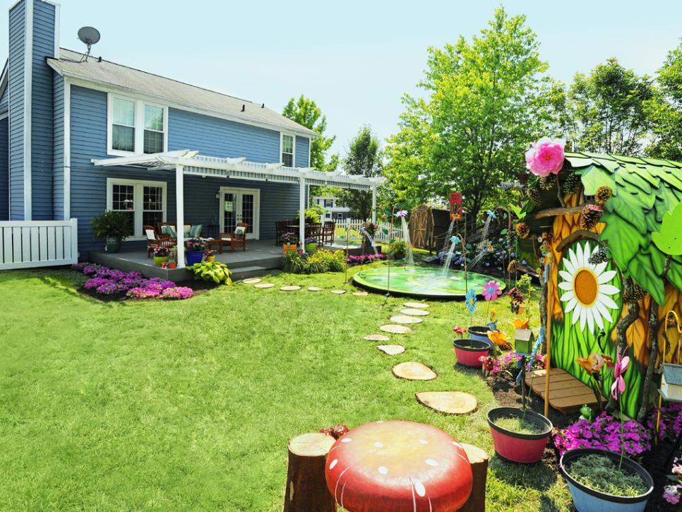 magical backyard makeovers hgtv