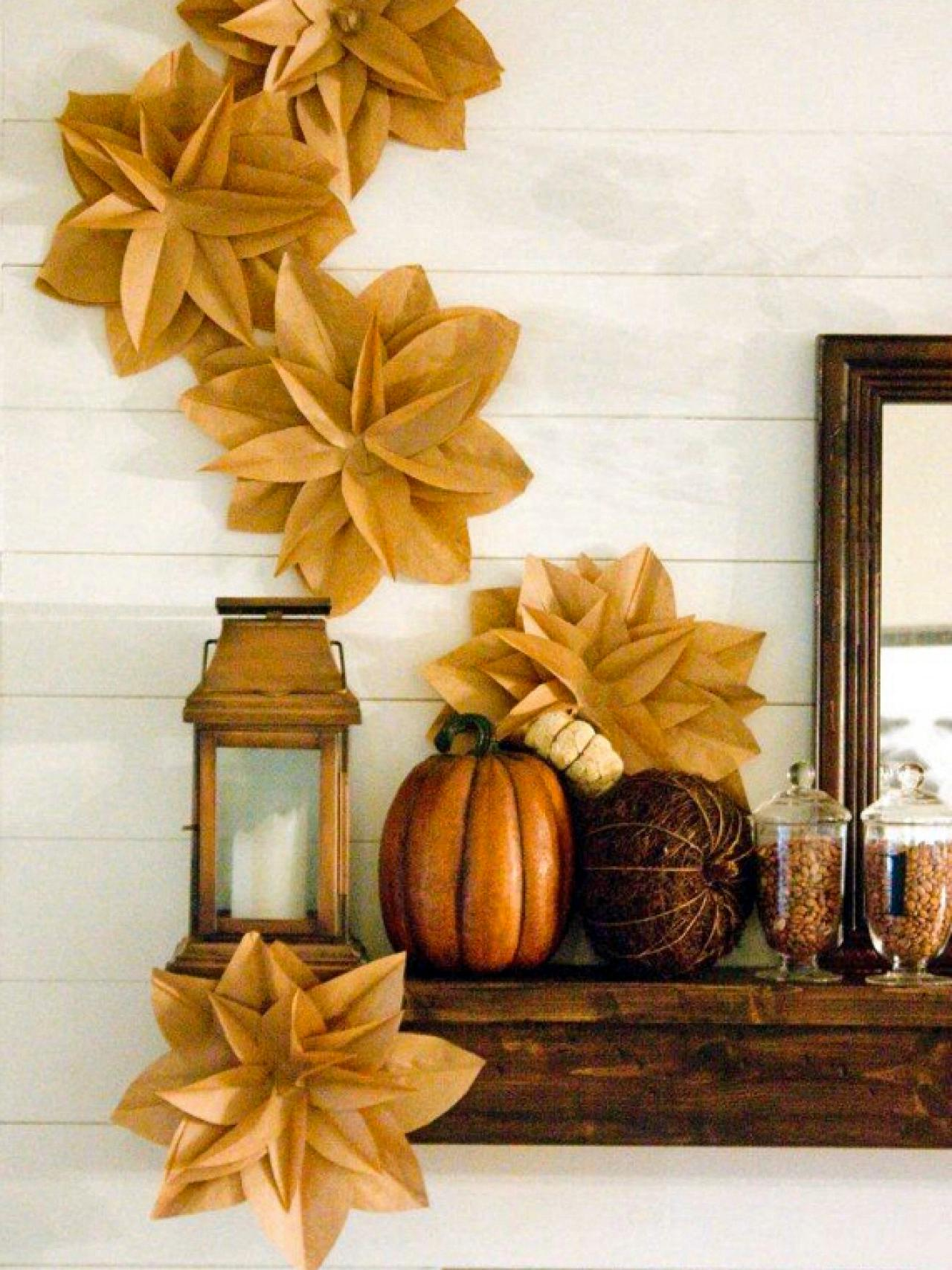 Diy thanksgiving paper decor - Tags