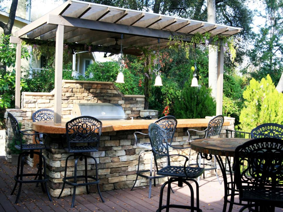 Pictures Of Outdoor Kitchens: Gas Grills, Cook Centers, Islands U0026 More |  HGTV