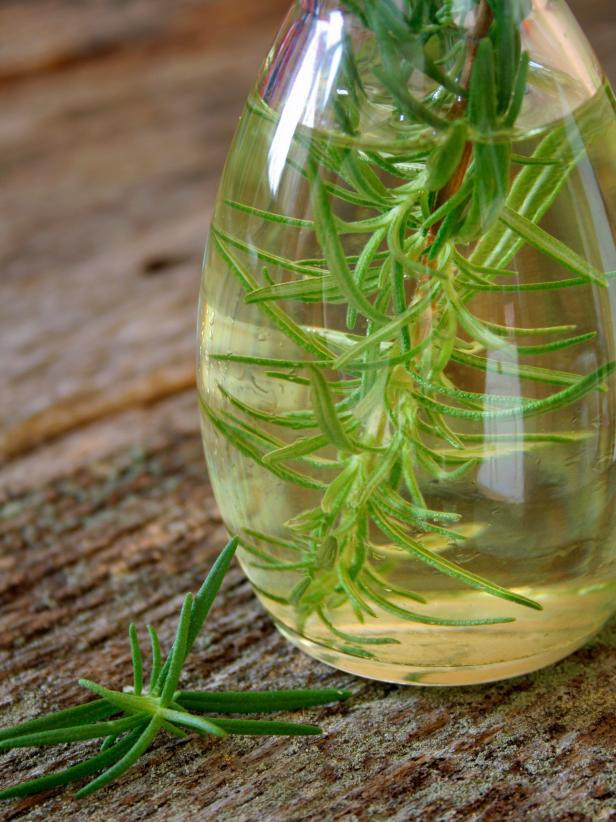 Rosemary-Infused Olive Oil Holiday Gift