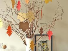 DIY Thanksgiving Thankfulness Tree