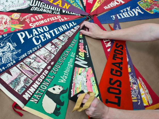 Making a Team Pennant Tree Skirt