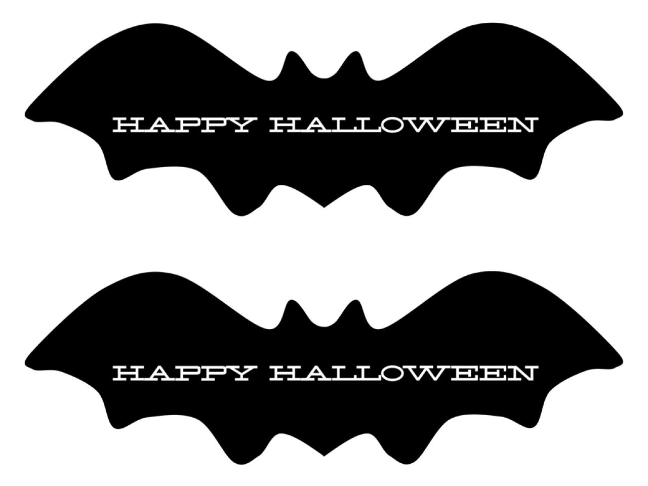 party favor and gift bag printables - Halloween Decorations Printable