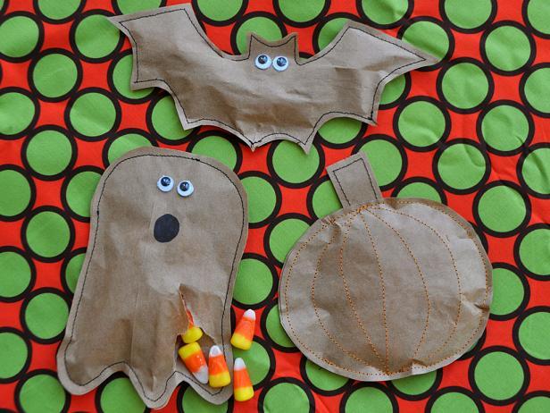 Halloween Treat Pouches Step 5