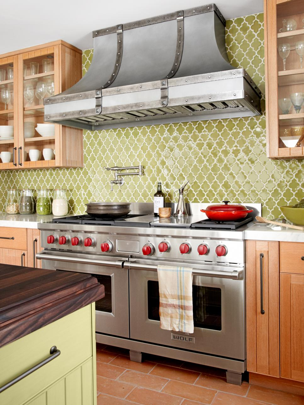 Dreamy kitchen backsplashes hgtv - Backsplash ideas kitchen ...