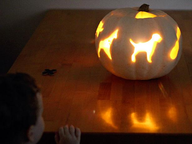 Cookie-Cutter Pumpkin Carving With Kids