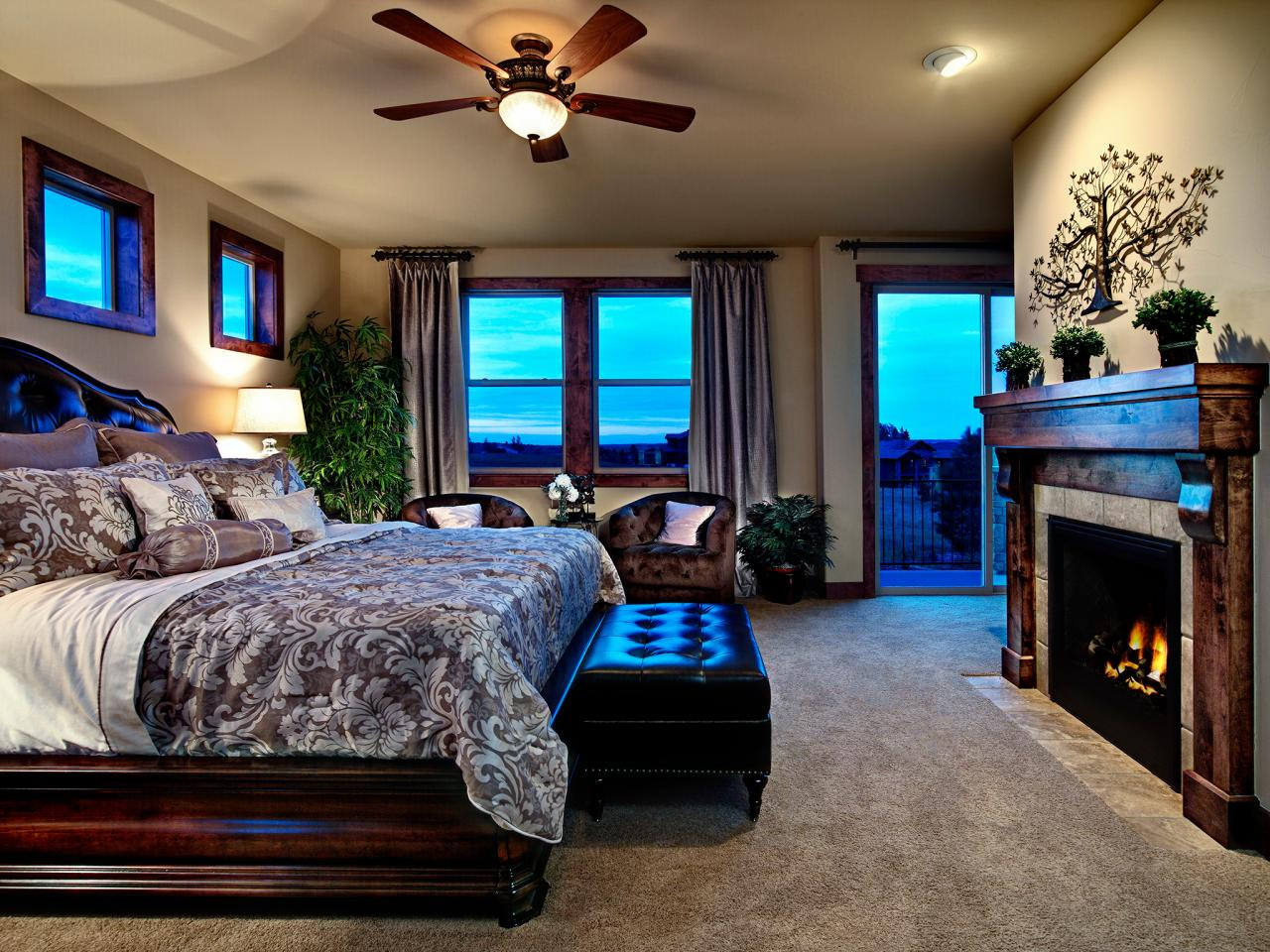 Master bedroom with fireplace hgtv Master bedroom with fireplace images