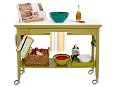 How to Repurpose a Console Table into a Kitchen Island
