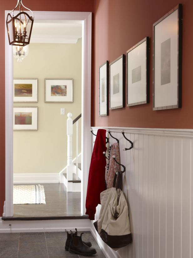 Mudroom Storage Ideas HGTV - Entryway decorating ideas for small spaces
