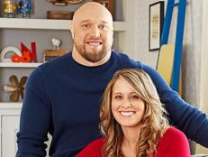 Homeowners Daryl Jelle and Nicole Bieniek