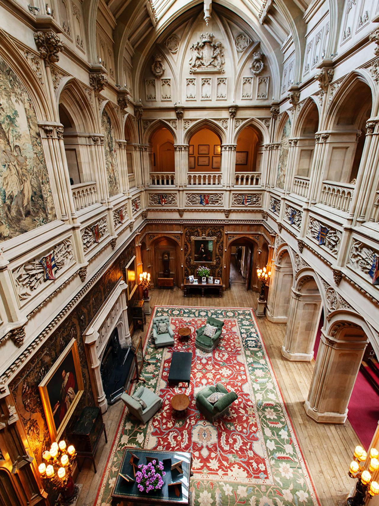 Castles on camera hgtv visits the real downton abbey castles o - Downton abbey chateau ...
