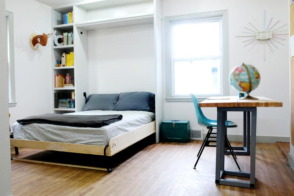 Bedroom And More 20 Smart Ideas For Small Bedrooms  Hgtv