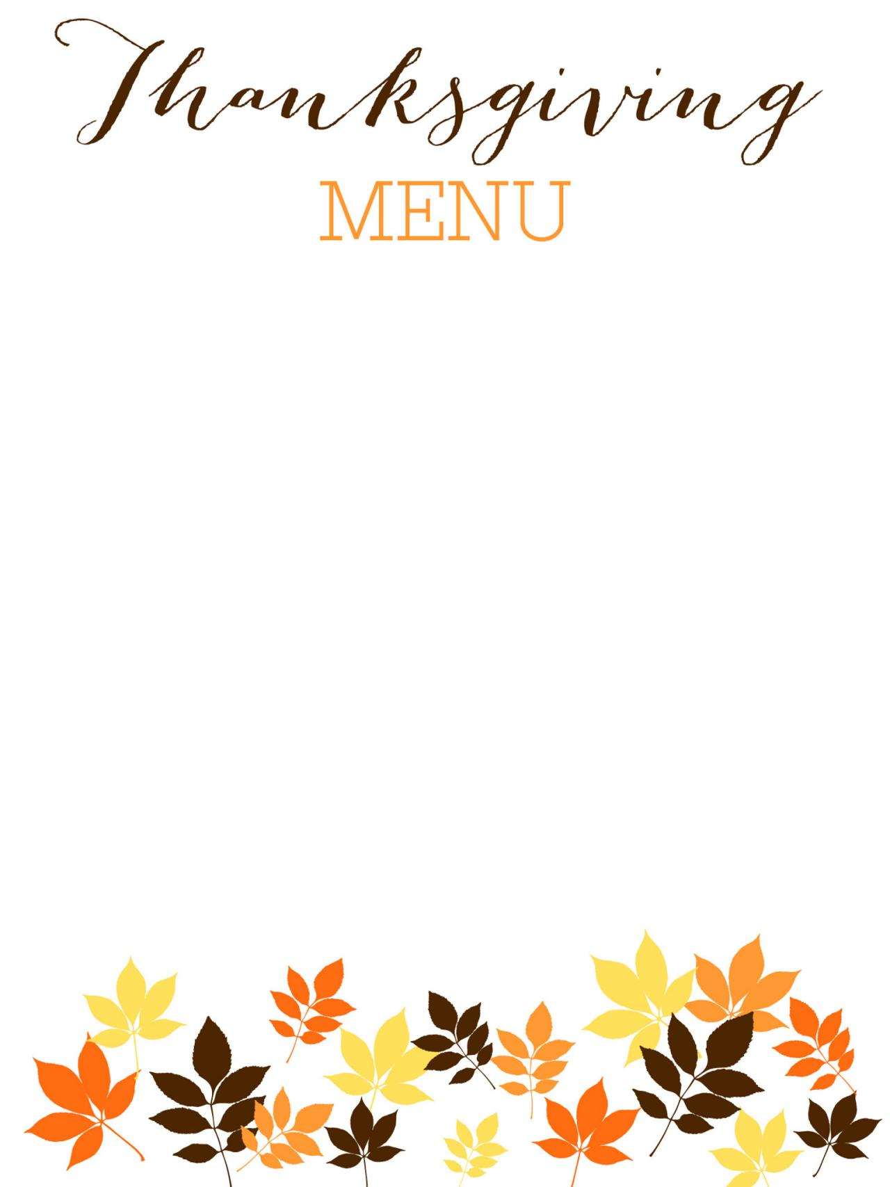 Smart image for thanksgiving printable templates