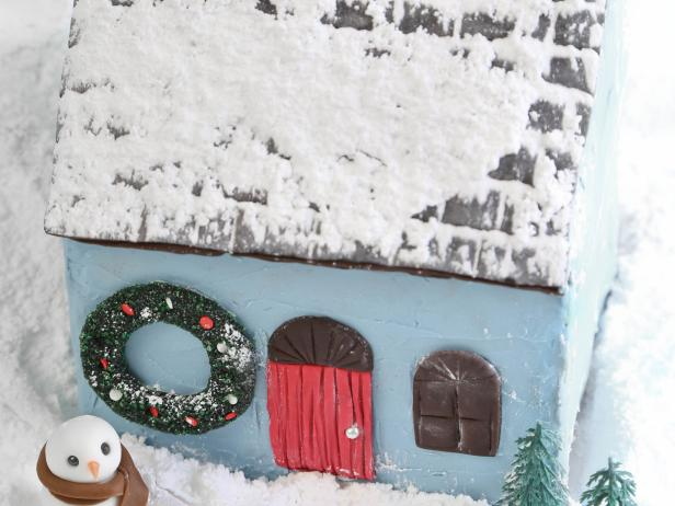Charming Cape Cod Gingerbread House