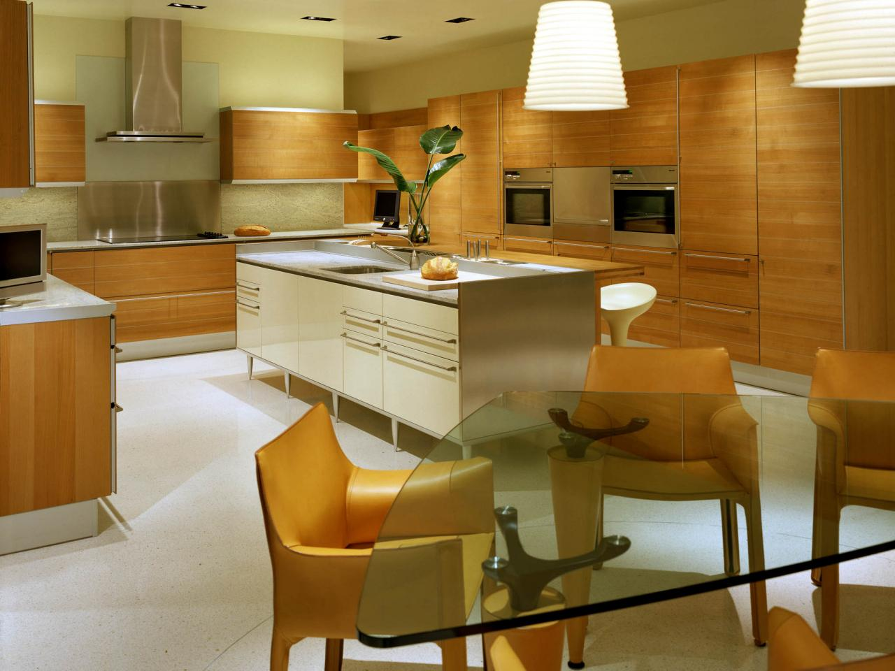 Modern kitchen paint colors pictures ideas from hgtv hgtv for Contemporary kitchen cabinet colors