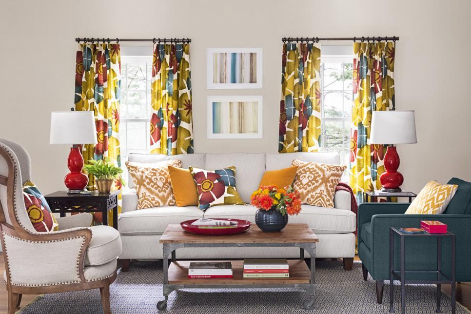 Curtain Ideas for Kitchen, Living Room, Bedroom | HGTV