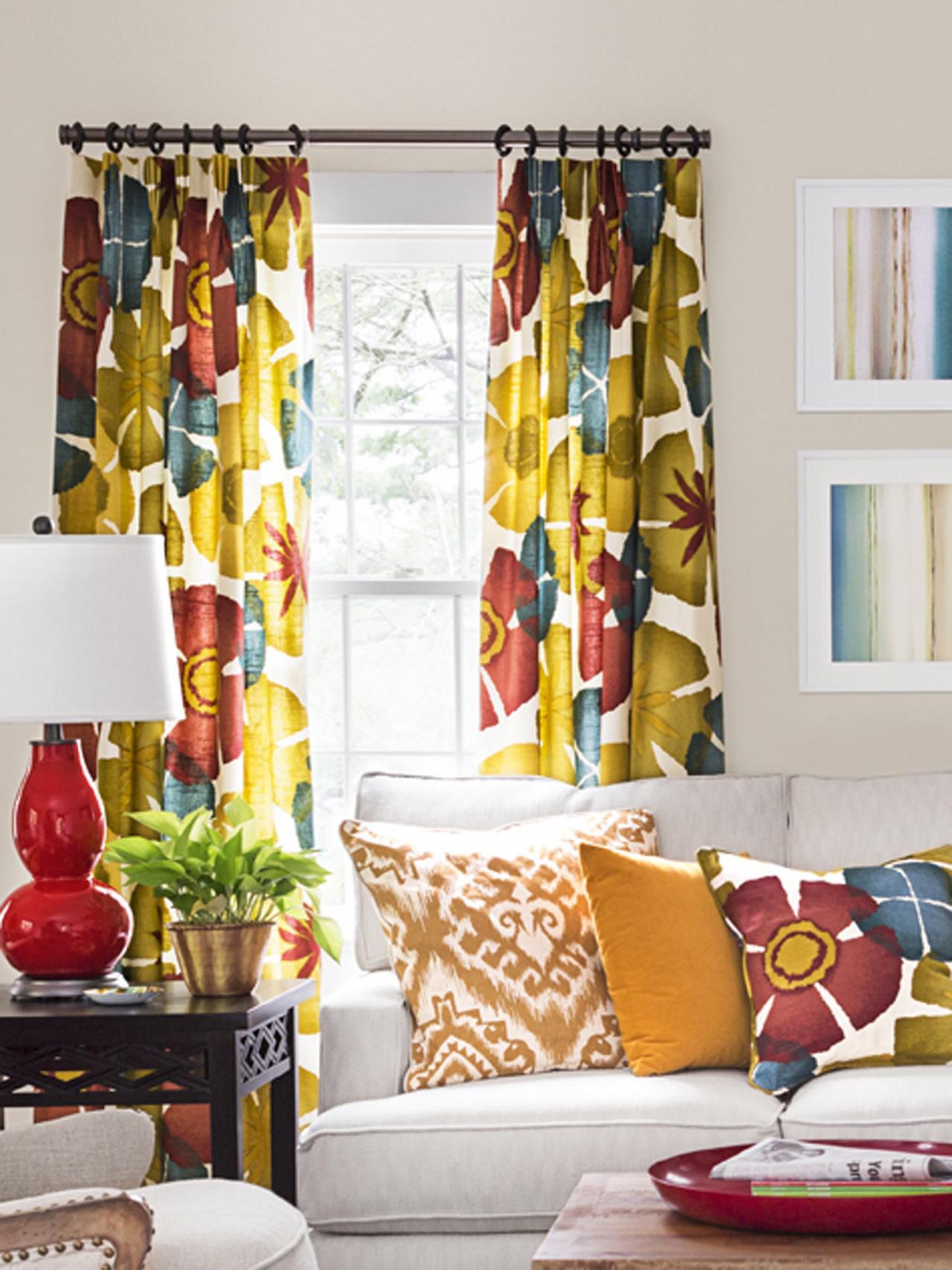 HGTV Stars Potluck Living Room