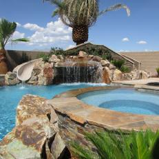Backyard Pools With Slides photos | hgtv