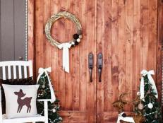Entry with Christmas Decorations