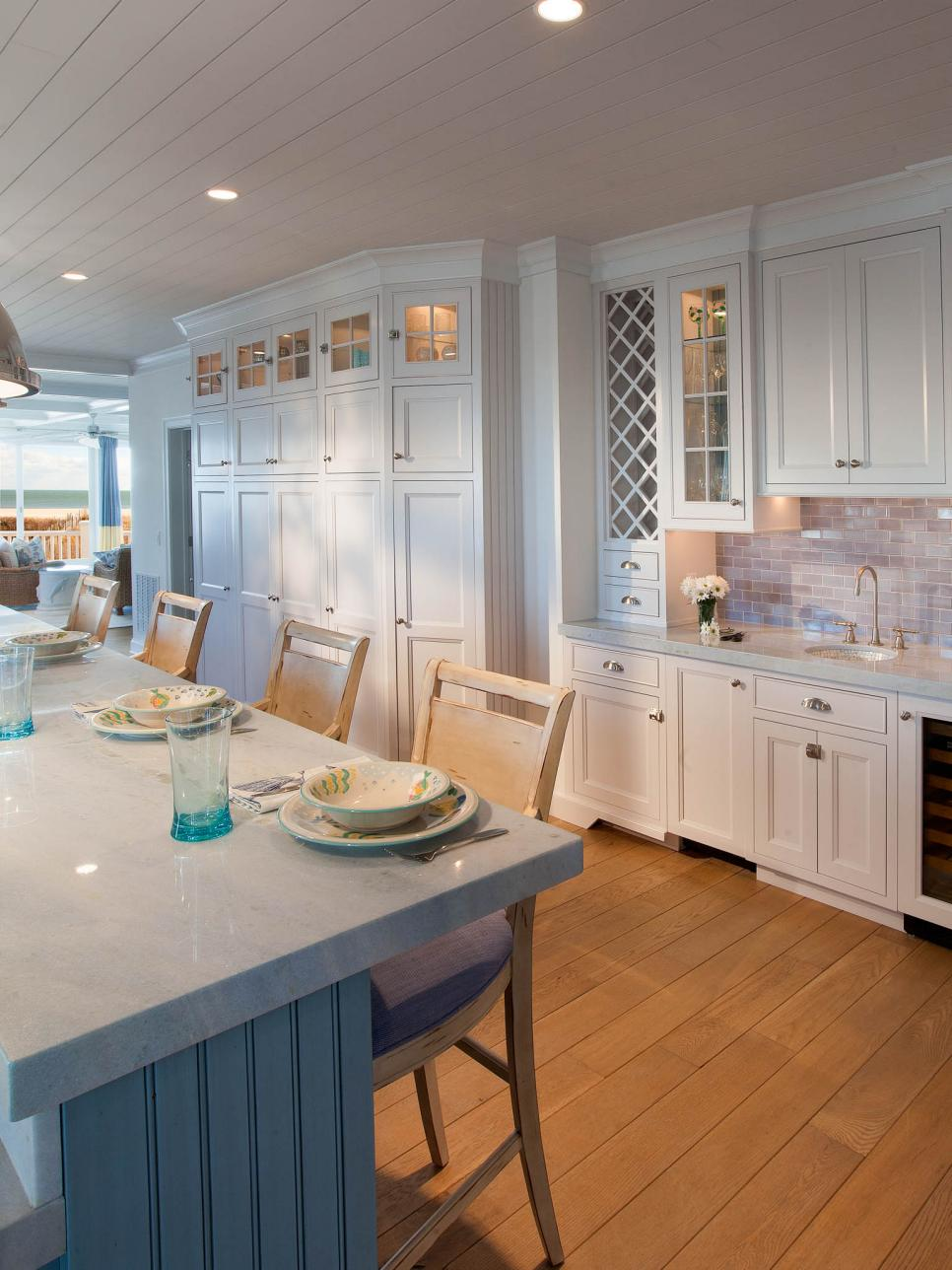 Coastal Kitchen White Coastal Kitchen Pictures By The Serene Seaside Hgtv
