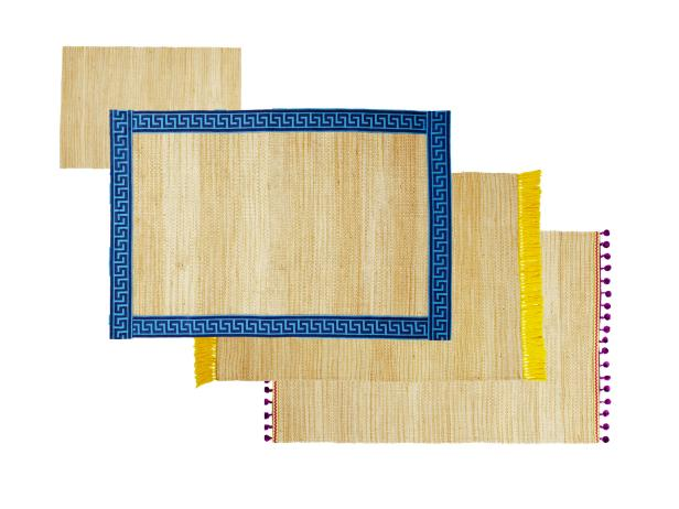 Customize Jute Rugs with Colorful Trim