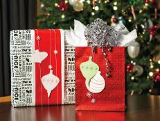 Red and White Gift Wrapping