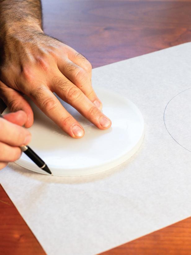 Drawing Disk Circles for Meringue