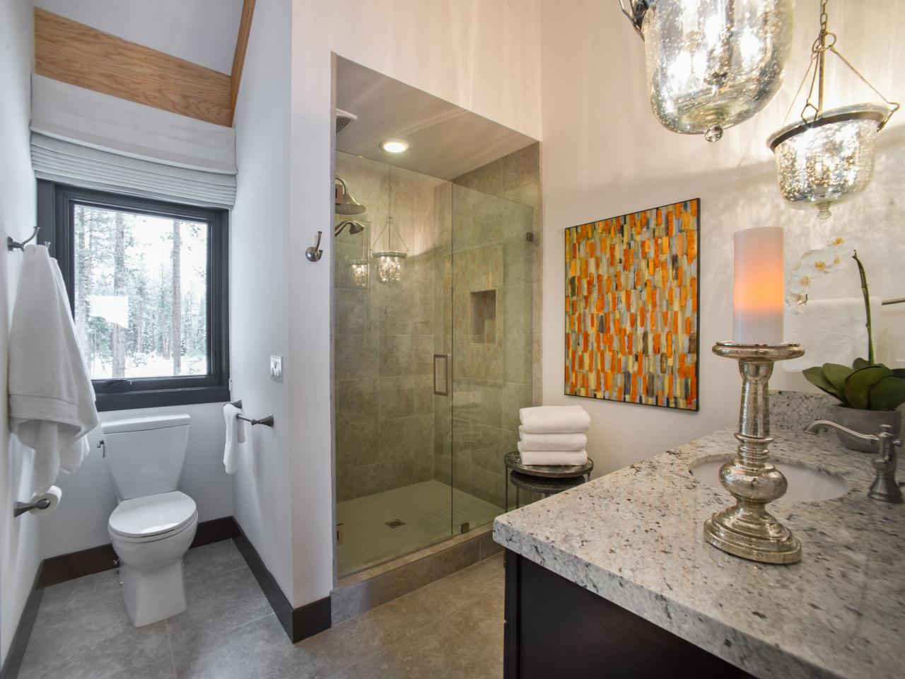 Guest bathroom from hgtv dream home 2014 pictures and for Bathroom designs hgtv