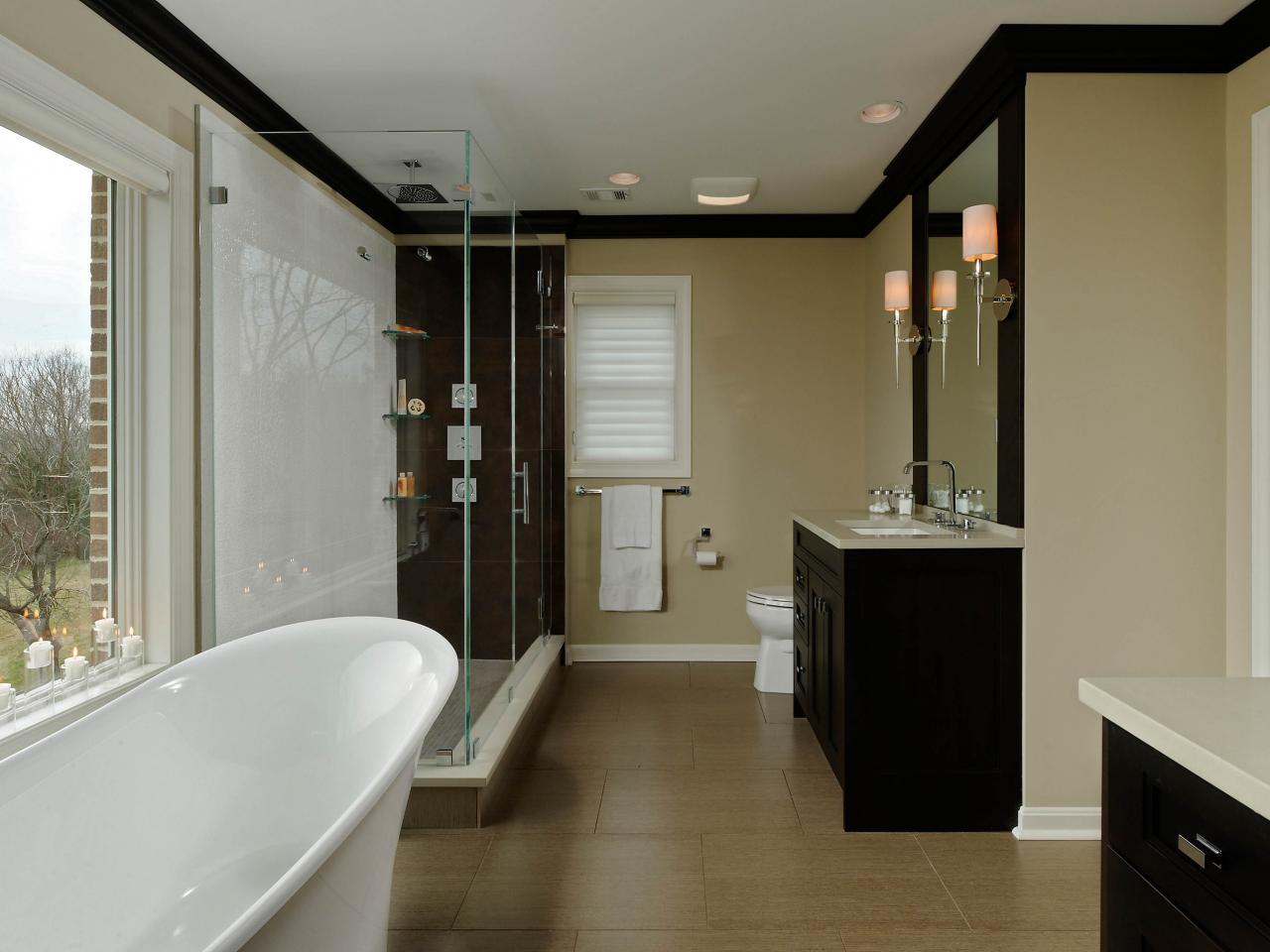 Tropical bathroom decor pictures ideas tips from hgtv for Bathroom designs lebanon