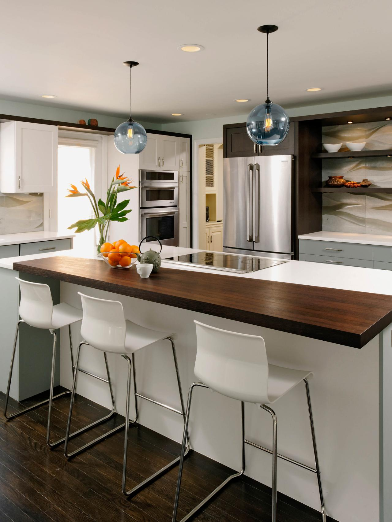 Small Modern Kitchen With Island Small Kitchen Island Ideas Pictures & Tips From Hgtv  Hgtv